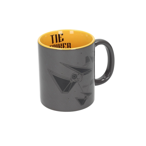 Tie Striker (Star Wars) Grey-Yellow Mug