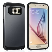 Caseflex Samsung Galaxy S6 Tough Armor Case - Gun Metal