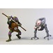Donatello V Krang In Bubble Walker (Teenage Mutant Ninja Turtles Cartoon) Neca Action Figure 2-Pack - Image 3