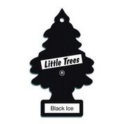Black Ice (Pack Of 24) Little Trees Air Freshener