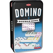 Double 9 Domino Tin Board Game