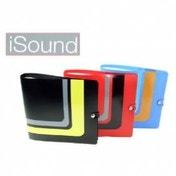 iSound 3 CD/DVD Wallet Booklets Each Hold 12