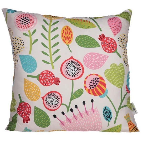 Autumn Floral Design Cushion with Insert