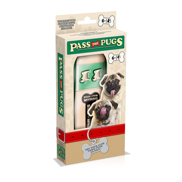 Pass The Pugs Board Game