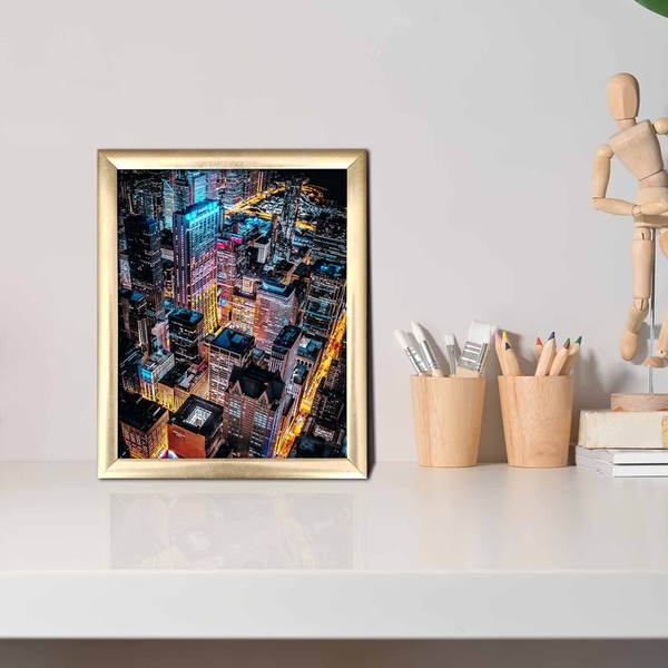ACT-043 Multicolor Decorative Framed MDF Painting
