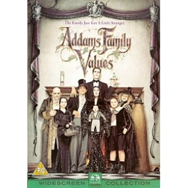Addams Family Values DVD