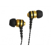Fischer Audio Golden Wasp In-Ear Headphone with In-Line Multifunction Remote and Microphone