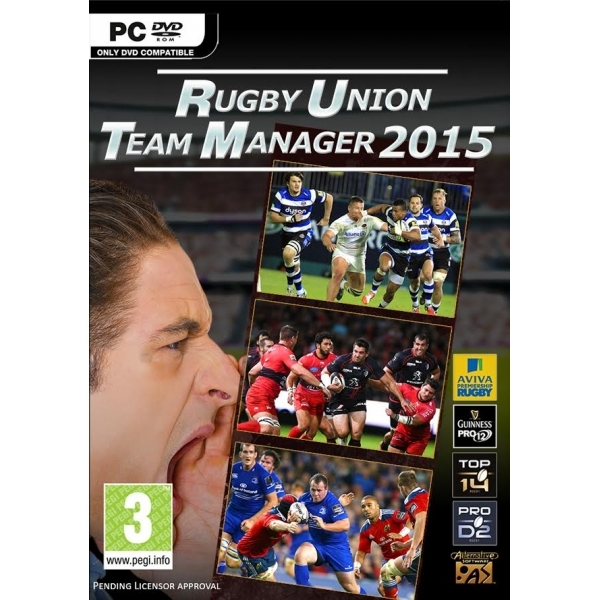 Rugby Union Team Manager 2015 PC Game