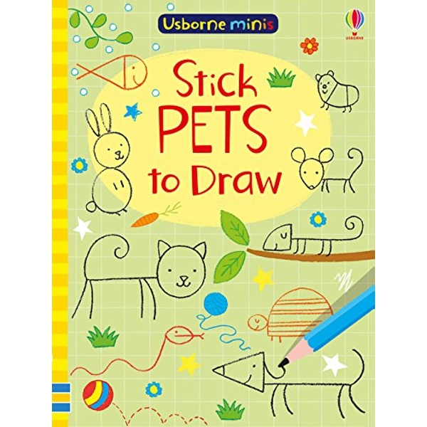 Stick Pets to Draw  Paperback / softback 2018