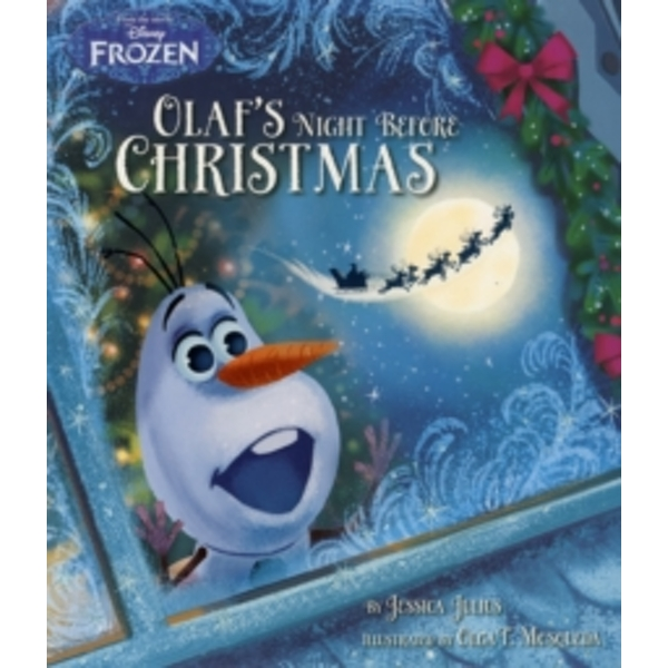 Disney Frozen Olaf's Night Before Christmas by Jessica Julius (Paperback, 2015)