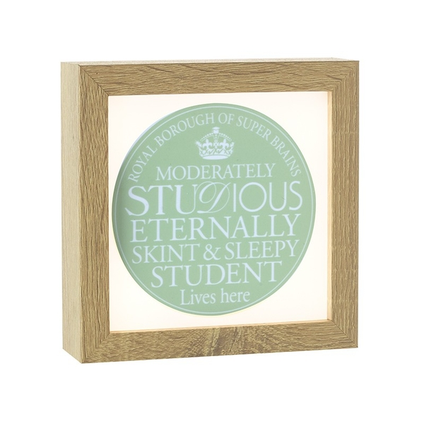 Light Up Frame Student By Heaven Sends