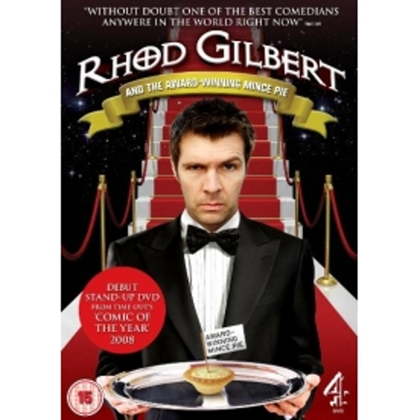 Rhod Gilbert And The Award Winning Mince Pie DVD