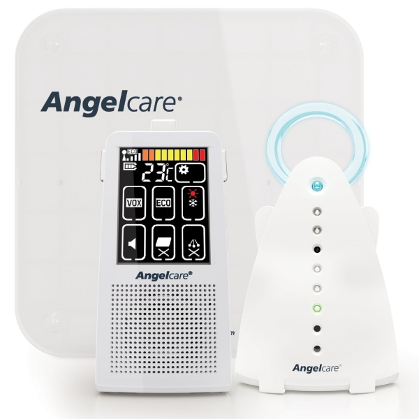 Angelcare AC701 Digital Touch Screen Movement & Sound Baby Monitor (UK Plug)