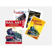 Rail Art Collectors Playing Cards