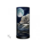 Quiet Reflection Wolves Lamp UK Plug