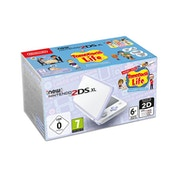 New Nintendo 2DS XL White and Lavender Console Pre-installed with Tomodachi Life (UK Plug)