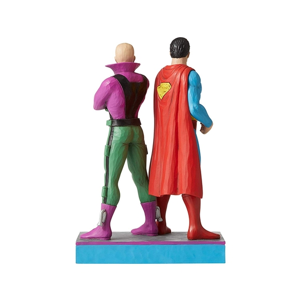 Superman and Lex Luthor (Jim Shore) Figurine