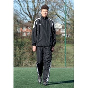 Precision Ultimate Tracksuit Trousers Black/Silver/White 38-40