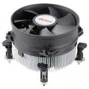 AKASA AK-CCE-7101CP Intel Socket 92mm PWM 3000rpm Dual Ball Bearing Fan CPU Cooler