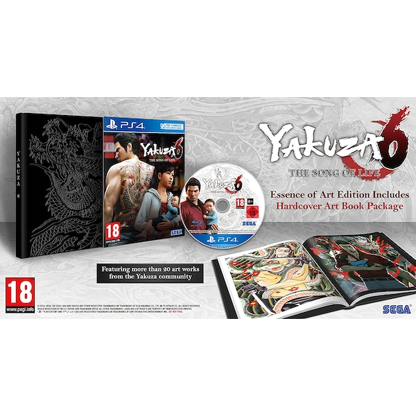 Yakuza 6 The Song Of Life Essence Of Art Edition PS4 Game - Image 2