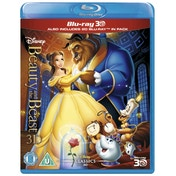 Beauty And The Beast 3D 2D Blu ray