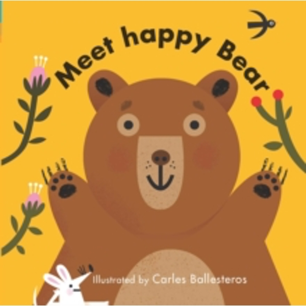 Little Faces: Meet Happy Bear by Carles Ballesteros (Board book, 2016)