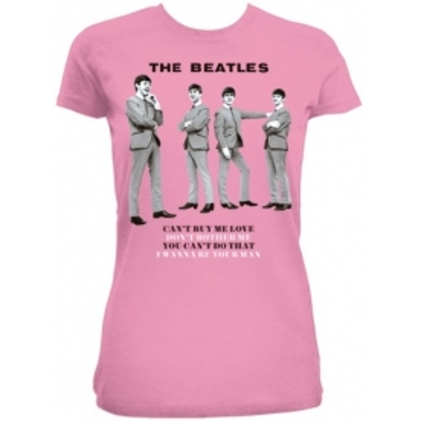 The Beatles You Cant Do That Pink Ladies TS: Medium
