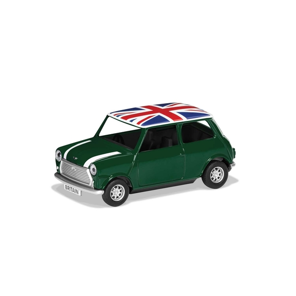 Classic Mini Green Best of British Corgi 1:36 Model Car