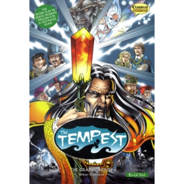 The Tempest: The Graphic Novel: Quick Text by William Shakespeare (Paperback, 2009)