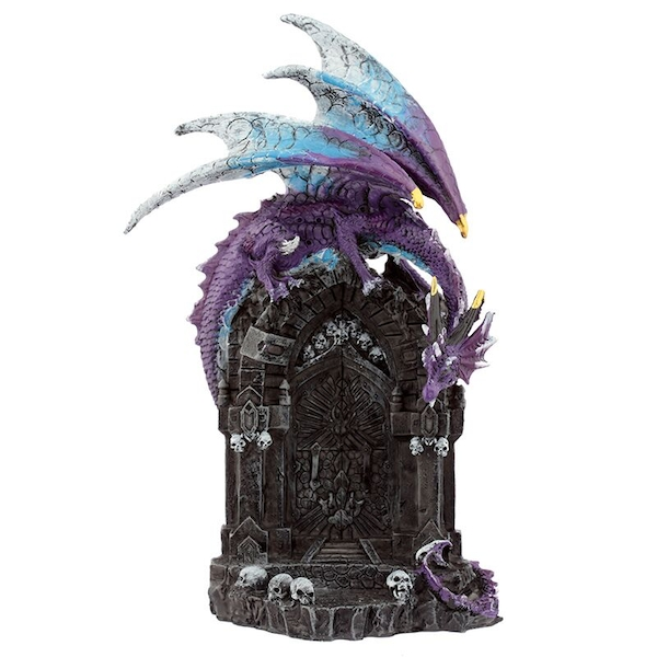 Gateway Guardians Dark Legends Dragon Figurine