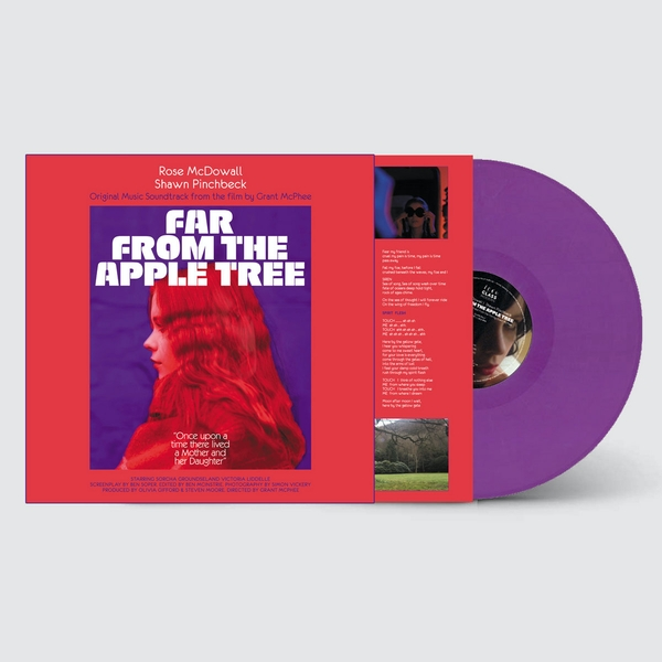 Rose McDowall & Shawn Pinchbeck – Far From The Apple Tree Limited Edition Purple Vinyl