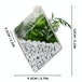 Hanging Diamond Glass Terrarium - Set of 2 | M&W - Image 5