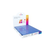 Gamegenic Sideloading 18-Pocket Pages - 50 Sheets Included - Blue
