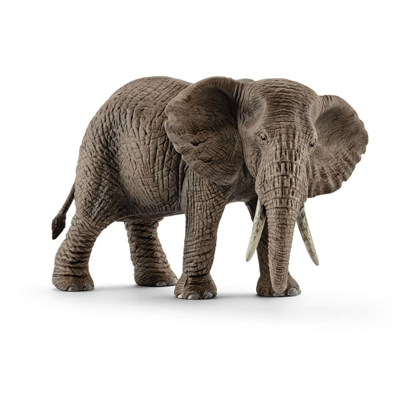 SCHLEICH Wild Life Female African Elephant Toy Figure