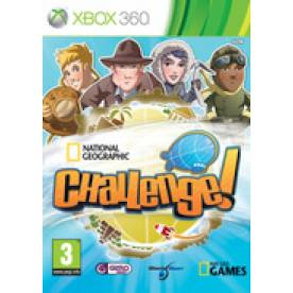 National Geographic Challenge Game Xbox 360