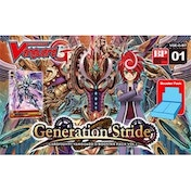 Cardfight Vanguard TCG Generation Stride G-BT01 Booster Box (30 Packs)