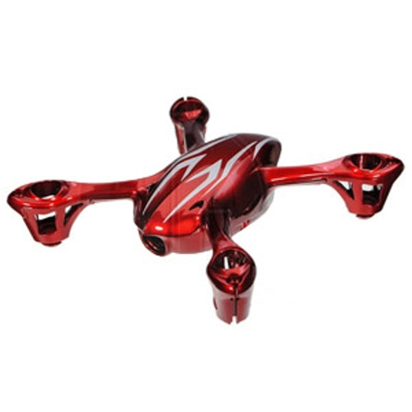 Hubsan X4C Mini Quadcopter Bodyshell Assembly - Red