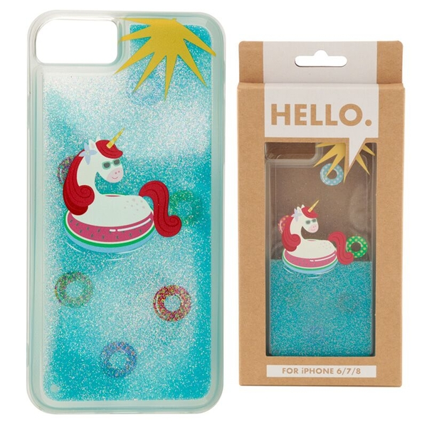 Tropical Vacation Vibes Unicorn iPhone 6/7/8 Phone Case