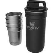 Stanley Adventure Stainless Steel Shot Glass Set Matte Black