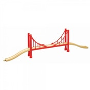 Wooden Railway Suspension Bridge 3 Pieces