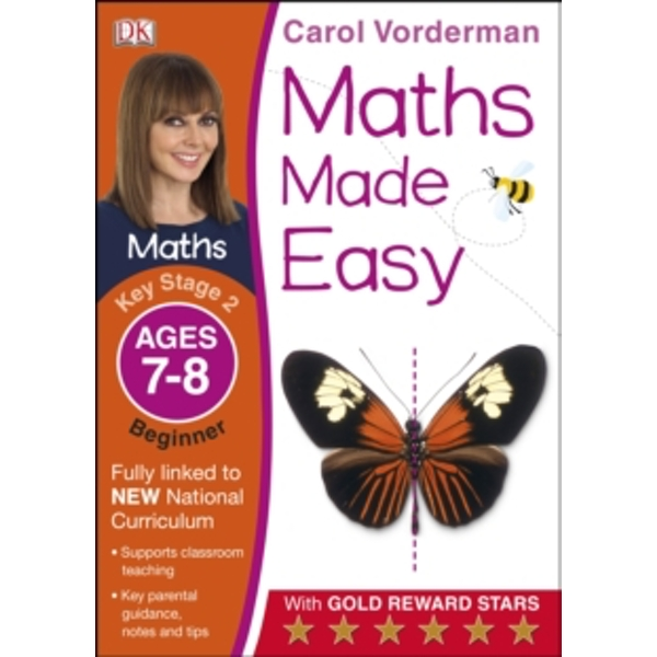 Maths Made Easy Ages 7-8 Key Stage 2 Beginner by Carol Vorderman (Paperback, 2014)