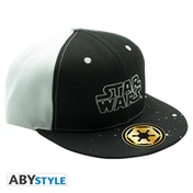 Star Wars - Black & White - Logo Snapback Cap