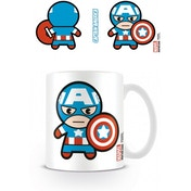 Marvel Kawaii Captain America Mug