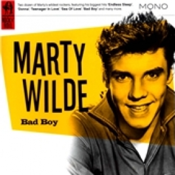 Marty Wilde Bad Boy CD