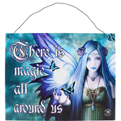 Mystic Aura Metal Sign