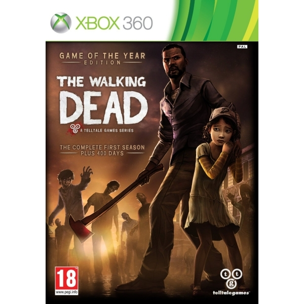 The Walking Dead TellTale Series Game of the Year (GOTY) Edition Game Xbox 360