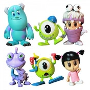 Monsters Inc 3 Inch Figure 6 Pack