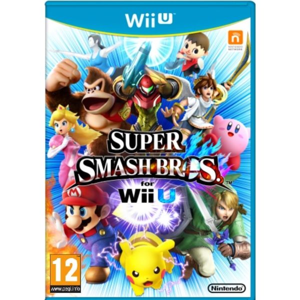 Super Smash Bros Wii U Game