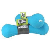 UFE Bone Dumbbells Neoprene Covered 2.0kg Sky