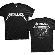 Metallica - Master of Puppets Photo Men's Large T-Shirt - Black